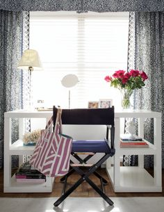 white desk, office space,