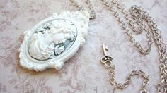 Cameo Necklace by Zaisy, via Etsy.