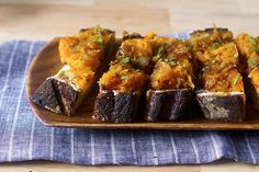 squash and goat cheese toasts