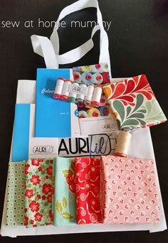 ✄ Sew at Home Mummy ✄: Aurifil Lecture with Alex Veronelli