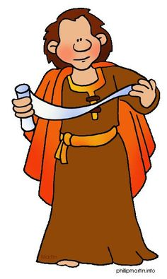 Bible Character Clipart #1
