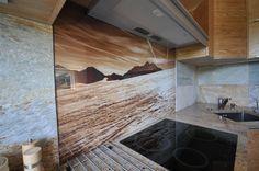 kamień i gresy w kuchni