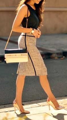 Best working Outfit for Perfect woman!