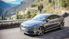 Kind of wish I pre-ordered this color: Monsoon Grey Metallic. 2015 Audi S3, a small slice of Monaco