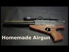 How to Make a Piston Sniper Rifle - YouTube