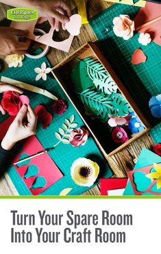 Craft Room Ideas: How to Turn a Spare Room into Your Creative Workspace