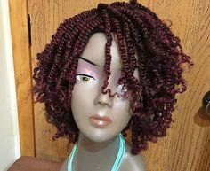Kinky Twist Diva by Deeswigs on Etsy Box Braids Hairstyles, Try On Hairstyles, Braids Wig, Twist Braids, Black Hairstyles, Curly Braids, Asian Hairstyles, Modern Hairstyles, Cornrows