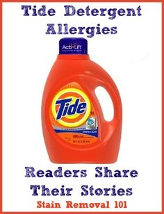 Detergent Allergy Pictures Find Out If You Re Allergic To