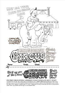 Official Alex & Elephant Coloring Sheet.