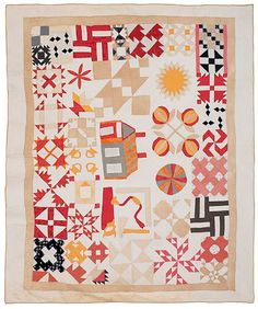 "Home & Garden Thick Wading Inside Cooperative Quilt,patchwork 75x85"" Double Bed,handmade,new"