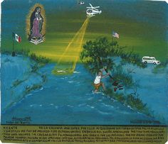 Retablos by Alfredo Vilchis Lost My Job, Mexicans, I Decided, Our Lady, Pilgrimage, The Neighbourhood, Illustration, In This Moment, Education