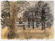Winter Paddock (No.2) 12/25 by Robert Tavener