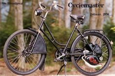 Cyclemaster DeLuxe 1956
