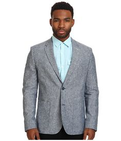 Cotton and linen blend blazer Original Penguin. Perfect for warmer weather. #jackets #fashion #menswear