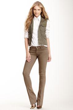 The Runaway Bootcut Jean  Bootcut #JeanWomen #Pants