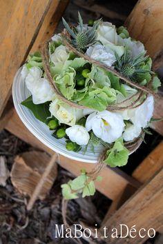 thème nature, bridal bouquet