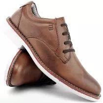 Sapato Masculino Social Casual Oxford 100%couro Confort Leve b5a4312d39