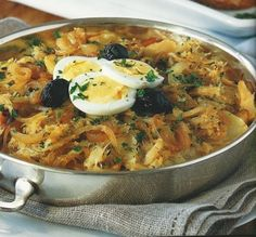 Made this exact recipe and tasted great! Fish Recipes, Seafood Recipes, Cooking Recipes, Yummy Recipes, Portuguese Recipes, Portuguese Food, Fish Dishes, Fish And Seafood, International Recipes