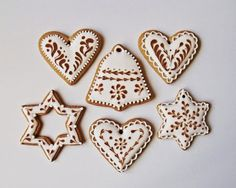 Lemon Foam: Gingerbread pečení a zdobení Holiday Treats, Gingerbread, Food And Drink, Cookies, Christmas Recipes, December, Lemon, Holidays, Winter