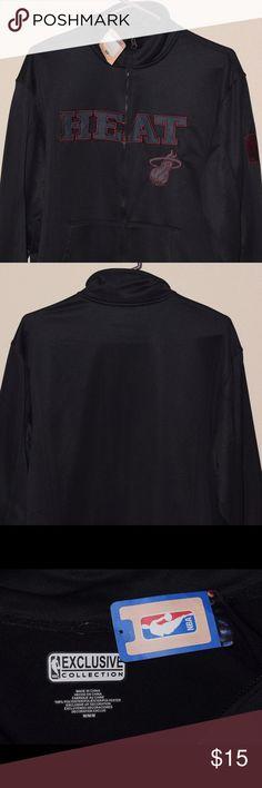 Miami Heat Warmup Jacket Brand new and never worn!! Jackets & Coats Performance Jackets
