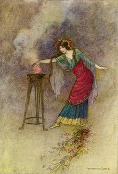 Medea by Warwick Goble