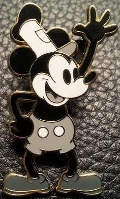 View Pin: Mickey Mouse as Steamboat Willie