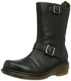 Dr. Martens KARIN Broadway BLACK - Náuticos para mujer #Calzado #Botas #Zapatos #Martens