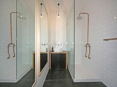 exposed pipe shower . Exposed copper pipe plumbing homemade fixtures  A rustic home Pinterest