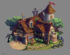 cottage_Colour by Jiazhu: