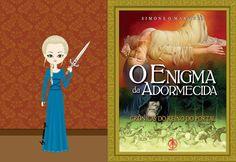 """Mônica from """"O Enigma da Adormecida"""" de """"Crônicas do Reino do Portal de Simone O. Marques. c. 14th century"""