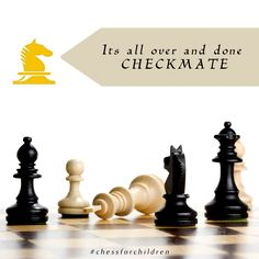 Its all over and done CHECKMATE. Wanna to learn chess join us now!!! For registration visit : http://chessforchildren.in/registration.php  #chess #taniasachdev #playchess #learnchess