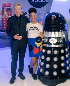 By the gods Pcap is looking quite dashing and PMackie is looking fabulous.
