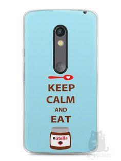 Capa Capinha Moto X Play Keep Calm and Eat Nutella - SmartCases - Acessórios para celulares e tablets :)