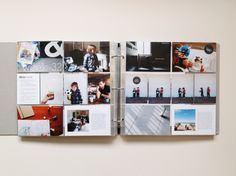 Love the series of pics on the right side. Project Life by Rhonda Mason/Pink Ronnie (www.pinkronnie.com)