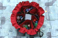 Original Bag of Many Dice 6 Pocket Dice Bag by TheDMsWifeRPGShop