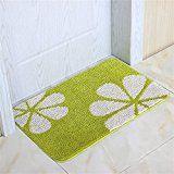bedroomfurniture-uk.co.uk mehe-fashion-individuality-creative-living-room-bedroom-bedside-kitchen-non-slip-mats-doormat-foot-pad-bathroom-doorway-mats-carpets-rugs-color-green-size-4060cm