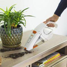 Vax Gator Cordless Handheld Vacuum Cleaner, L - White/Orange Cordless Vacuum Cleaner, Handheld Vacuum Cleaner, Best Kids Toys, Self Improvement, Cool Toys, Vacuums, Gift Ideas, Holidays, Orange
