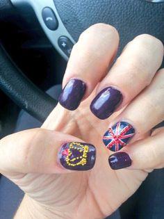 Royal Baby mani using Pitter Patter by ButterLONDON  nails by Melaina Kampf