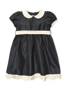 Georine Scalloped Dress by L'Enfant Lune at Gilt