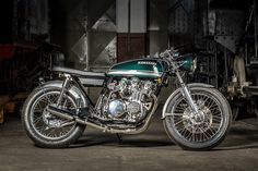 "RocketGarage Cafe Racer: Kawasaki KZ 650 ""Green Glory!"
