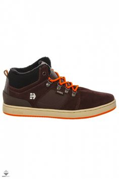 Buty Etnies High Rise Kids Eos, High Tops, High Top Sneakers, Brown, Fashion, Moda, Fashion Styles, Brown Colors, Fashion Illustrations