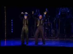 """Ken Alan and Eugene Fleming give an incredible tap duet in this excerpt from the finale of """"Fosse"""", """"Sing! Sing! Sing!"""""""