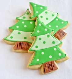 The absolute best site for learning how to make beautifully decorated Christmas cookies!