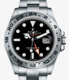 Rolex Explorer II Watch: 904L steel – M216570-0001