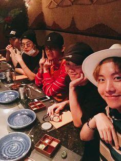 Suga, Jimin, V, Rap Monster, JHope BTS