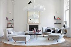 Albert Court Apartment in London by Teresa Sapey Studio