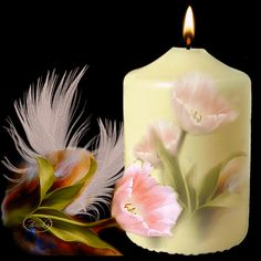 FEELING BLESSED — CANDLE LIGHT FOR YOU  ~^~^~^