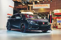 2016 Honda Civic Type R Prototype  #2016MY #Honda_Civic #Honda #Segment_C #Japanese_brands #Honda_Civic_Type_R #Prototype #Paris_2016
