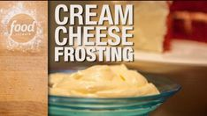 Our Food Network Kitchen shares our top recipe for cream cheese frosting.