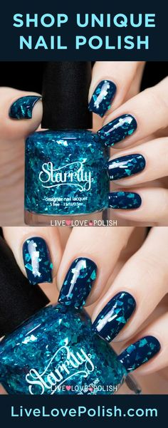 Shop unique glitter nail polish on Live Love Polish! Free shipping on qualified orders :):